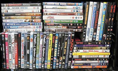 Brand New and Sealed DVD Movies. Mixed titles Job Lot Bundle #12903