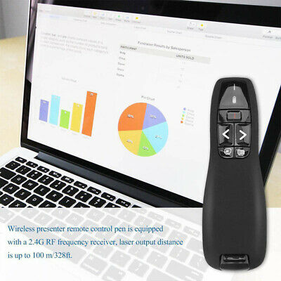 2.4GHz Wireless Presenter PPT Pen Powerpoint Presentation Clicker Remote Control