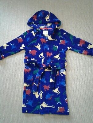 Joules boys fleece dressing gown robe, aged 7-8 years