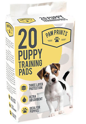 New 20 Puppy Training Ultra Absorbent Protection Puppies Pads Three Layer Dogs