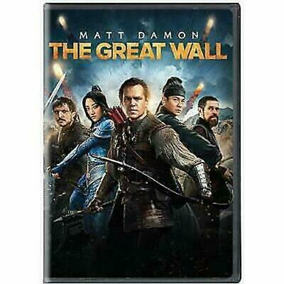 The Great Wall (DVD, 2017)NEW