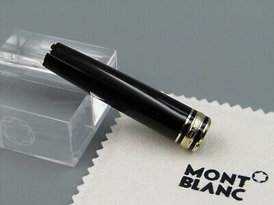 MONTBLANC Ballpoint Pen 164 Nude Cap Top PART With BLACK & Gold Post 1990s NEW