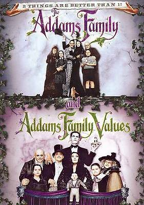 The Addams Family/Addams Family Values (DVD, 2013) BRAND NEW SEALED