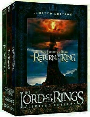 Lord of the Rings Limited Edition - 6 DVD Set - FELLOWSHIP RETURN KING TWO TOWER