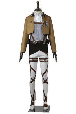 Attack on Titan Dot Pixis Stationed Corps Uniform Cosplay Costume Halloween