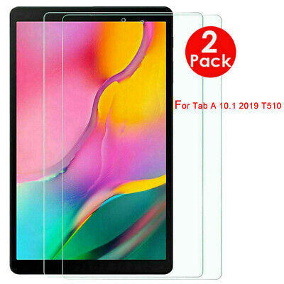 Screen Protector for Samsung Galaxy Tab A 10.1 2019 T515/T510 Tempered Glass 2X