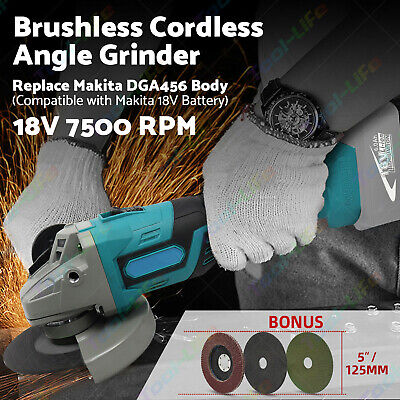 18V 125mm LXT Cordless Angle Grinder Naked-Body Only Replaces Makita DGA452Z