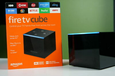 Amazon Fire TV Cube with Smart Assistant Alexa 4K Ultra HD - 2019 Christmas