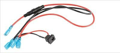DC Charging Socket with Leads for 12V Pressure Washer - SEALEY