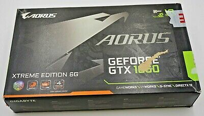 Gigabyte Nvidia Geforce GTX1060 Aorus 6GB GDDR5 Graphics Card