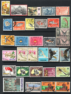 Commonwealth - Selection X 32 Used Stamps.