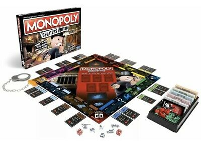 Monopoly Game: Cheaters Edition from Hasbro Gaming - 2+ Players. Xmas Gift Toy