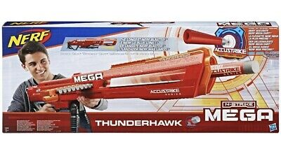 Nerf N-Strike Mega AccuStrike Series Thunderhawk 8+ Years  Xmas Gift Toy