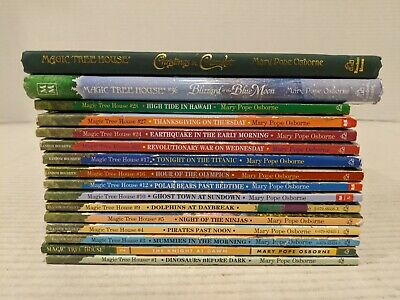 Huge Mixed Lot of 16 MAGIC TREE HOUSE chapter books. Several runs Free Shipping!