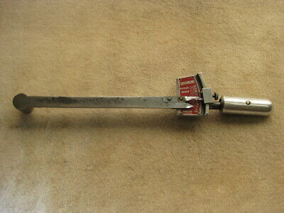 """SIDCHROME No. TWO.160  1/2"""" DRIVE 160 Ft.lbs. TENSION WRENCH Made in Australia"""