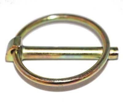 Pack of 5 x 10.5mm x 44.5mm Lynch Pin Linch Pin suit Tractor Link Pins