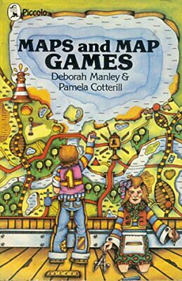 Maps and Map Games (Piccolo Books) by Pamela Cotterill Paperback Book The Cheap