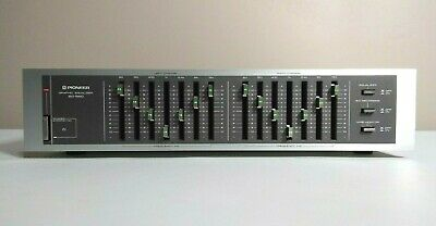 Vintage  Pioneer Model SG-550 7-Band Graphic Equalizer Japan Nice Condition!