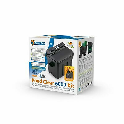 Superfish Pond Borrar Conjunto de Filtros 6000