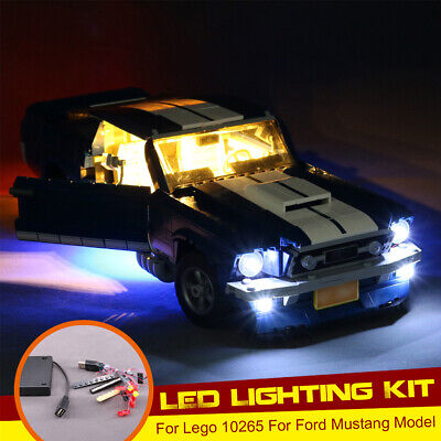 LED Light Lighting Kit Set ONLY For Lego 10265 For Ford Mustang With Battery  ,/
