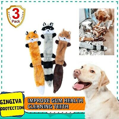 Duck Squeak Toys Dog Toy, Stuffed For Aggressive Chewers Hunting With Classic 3