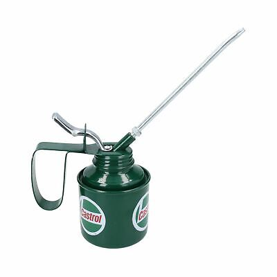 Castrol Oil Can Applicator Vintage Style Decorative Lubricant Pot Metal Spout