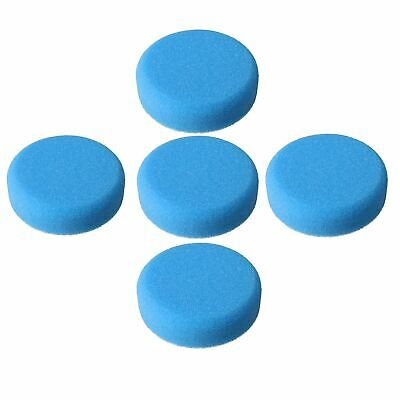 75mm Medium Polishing Sponge Mop For Hook and Loop Sanders Polishers 5pc