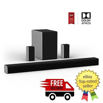 """VIZIO 36"""" 5.1.2 Home Theater Sound System wd Dolby Atmos and Wireless Subwoofer"""