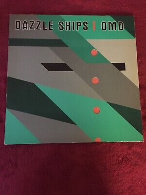 OMD - Orchestral Manoeuvres In The Dark - DAZZLE SHIPS Di Cast  1st Pressing UK