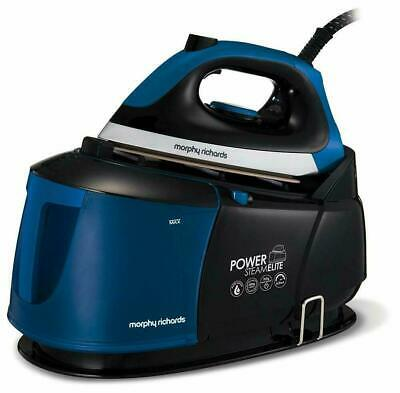 Morphy Richards 330012 Power Steam Elite 2400w Pressurised Steam Generator Blue