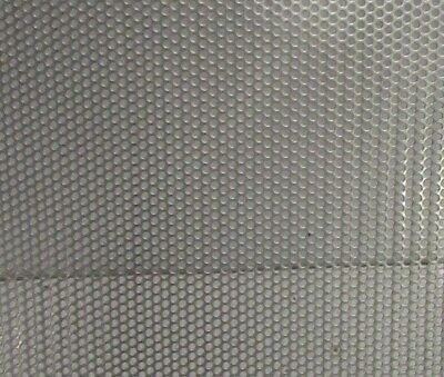 """1/8"""" ROUND HOLES 18 GA. 304 STAINLESS STEEL PERFORATED SHEET 12"""" x 12"""""""