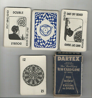Vintage Card Game Boxed.  Dartex Game Of Skill.