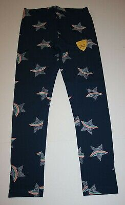 New Cat & Jack Navy Blue Star Rainbow Print Leggings Girls S 6 M 7 8 XL 14 16 18