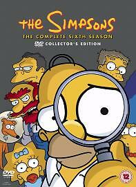 The Simpsons - Series 6 - Complete (DVD, 2005, 4-Disc Set, Box Set)
