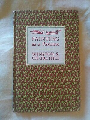 Vintage 1965 'PAINTING AS A PASTIME by SIR WINSTON CHURCHILL Book w/18 PAINTINGS
