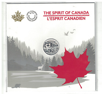 2017 'The Spirit of Canada' $3 Silver Coin .9999 Fine Silver