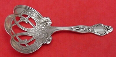 """Violet by Wallace Sterling Silver Nut Spoon 4 7/8"""" Antique Serving"""