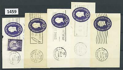 Dealer Dave Stamps GROUP of ALEXANDRIA, VIRGINIA POST MARKS, 1950's (1459)