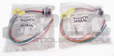 Lot Of 2 New Tpc Wire & Cable 84500 5 Pole Male Receptacle