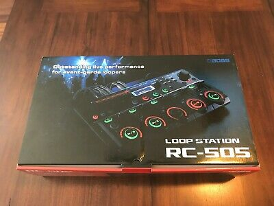 Boss RC-505 Table Top Multi Effects DJ Loop Station Looper Brand New Free Ship