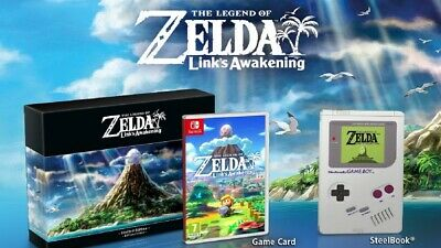 The Legend of Zelda Link's Awakening Edition Limitée Nintendo Switch Collector
