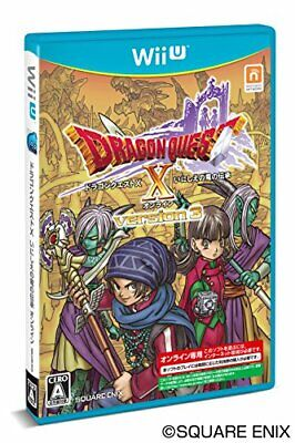square Enix Dragon lore of Dragon Quest X ancient - Wii U NEW from Japan