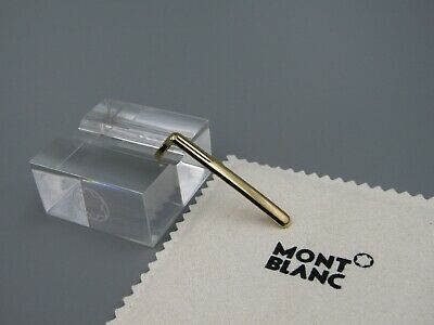 MONTBLANC Ballpoint Pen 164, 165 ,163 Clip CAP Solitaire PART With Gold Plated