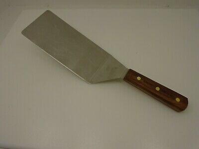 Dexter Russell S8699 Wood Handle 8x4 EXTRA LARGE Spatula Steak Turner Factory2nd