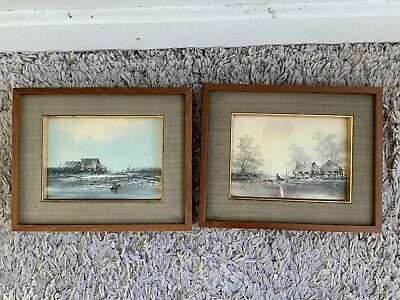 2x Chinese Watercolour Paintings Listed Artist?