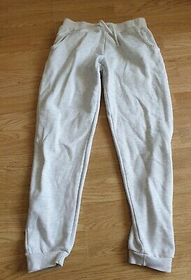 girls grey jogging bottoms age 12-13 years from primark