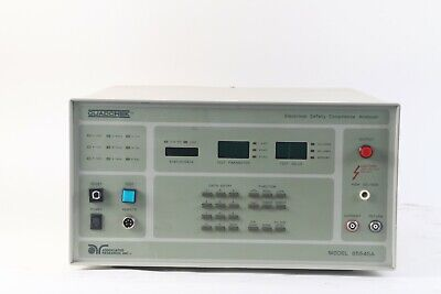 Associated Research 6554SA Electrical Safety Compliance Analyzer- Missing Button