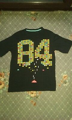 Vintage 80s Novelty T-shirt ( Space Invaders )
