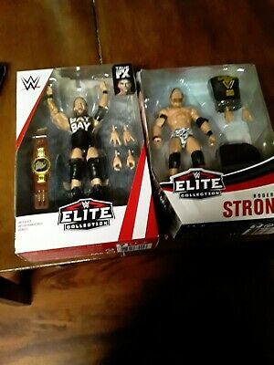 Wwe Elite Adam Cole And Roderick Strong Figure New