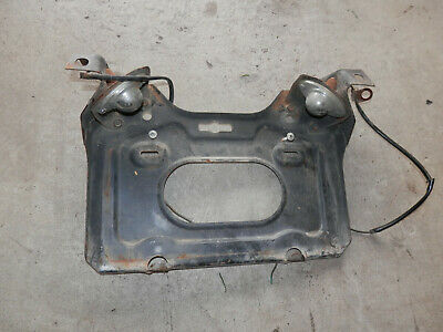 Toyota Hlux rear license plate holder, 1969, 1970, 1971, RN10, RN12